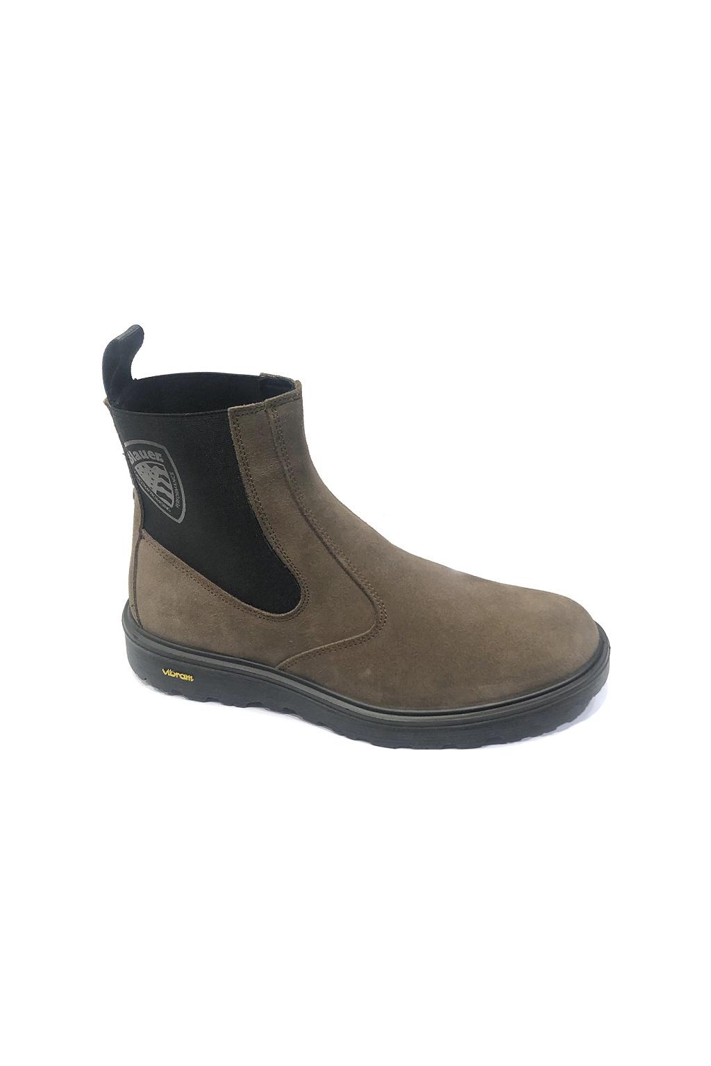 F0GUANTANAMO07/SUE Pánská obuv Guantanamo Blauer hnědá
