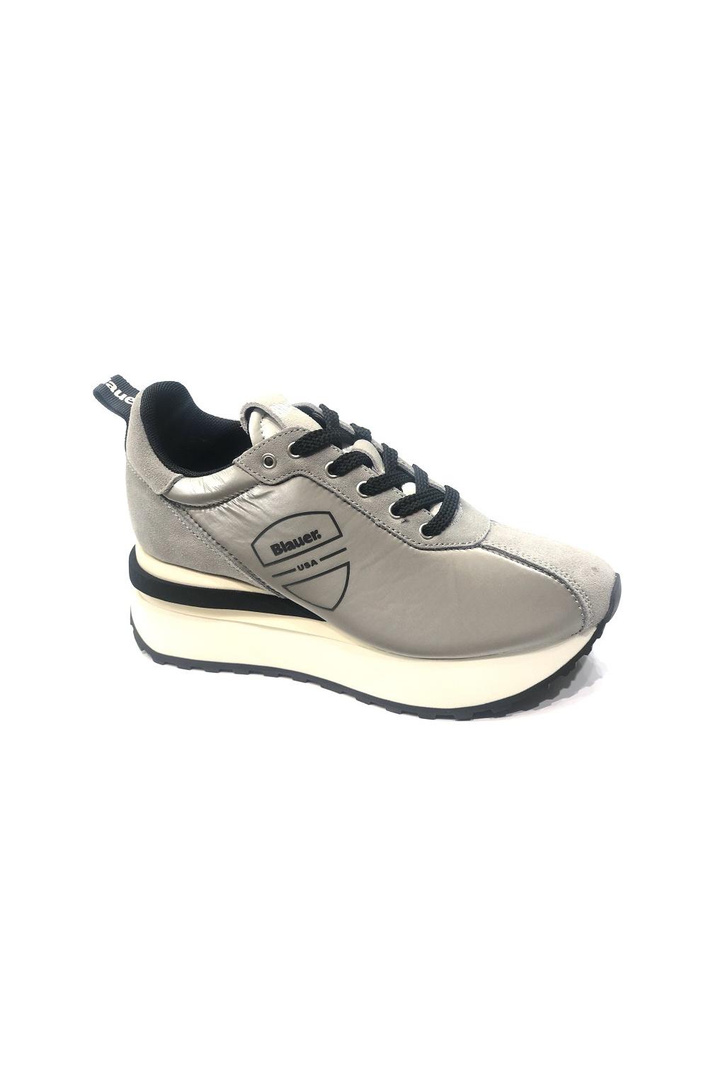 Dámské boty Blauer MABEL01 stříbrné