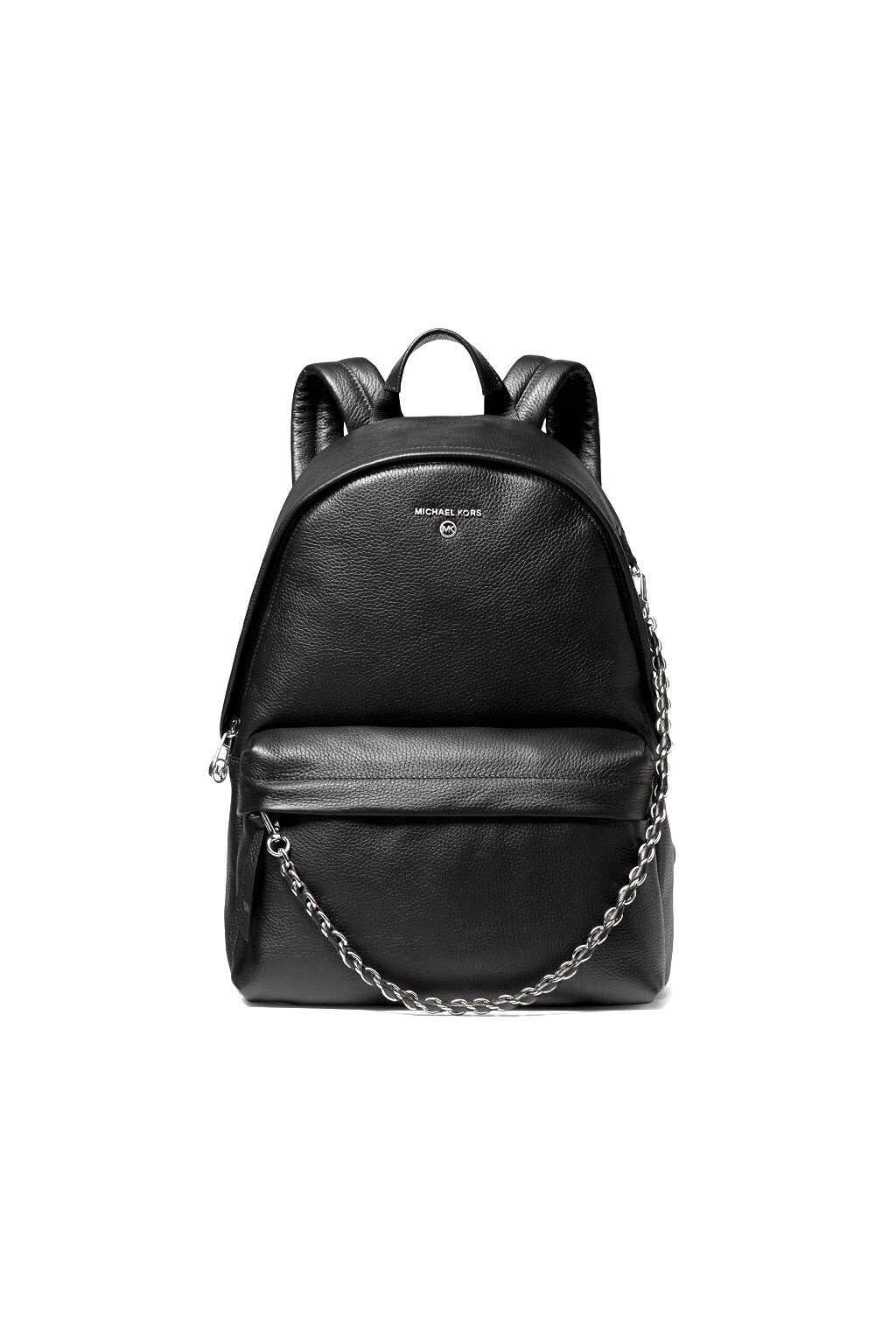 30T0S04B1L Dámský batoh Michael Kors Slater Medium Backpack Leather černý
