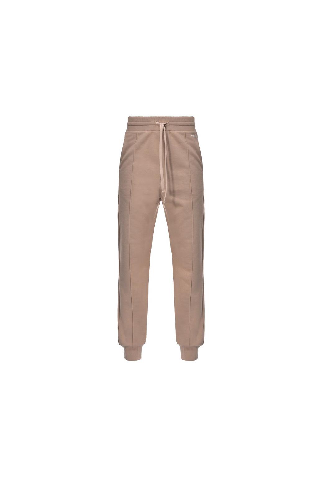 1N12Y0Y75F C99 Dámské kalhoty Pinko Addams béžové