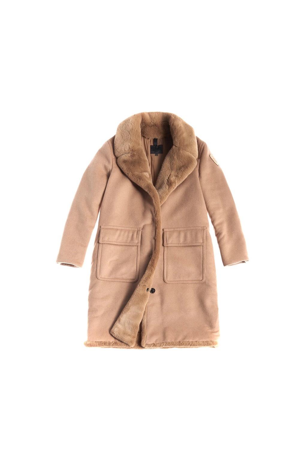 20WBLDK01571 005831 336 Dámský kabát Blauer hnědý
