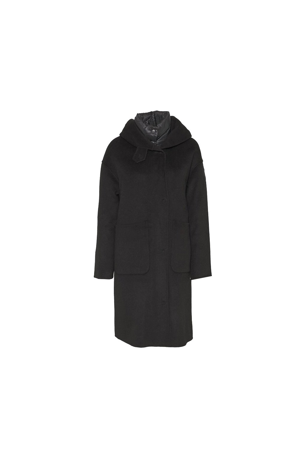 20WBLDK05031 999 Dámský kabát Blauer černý