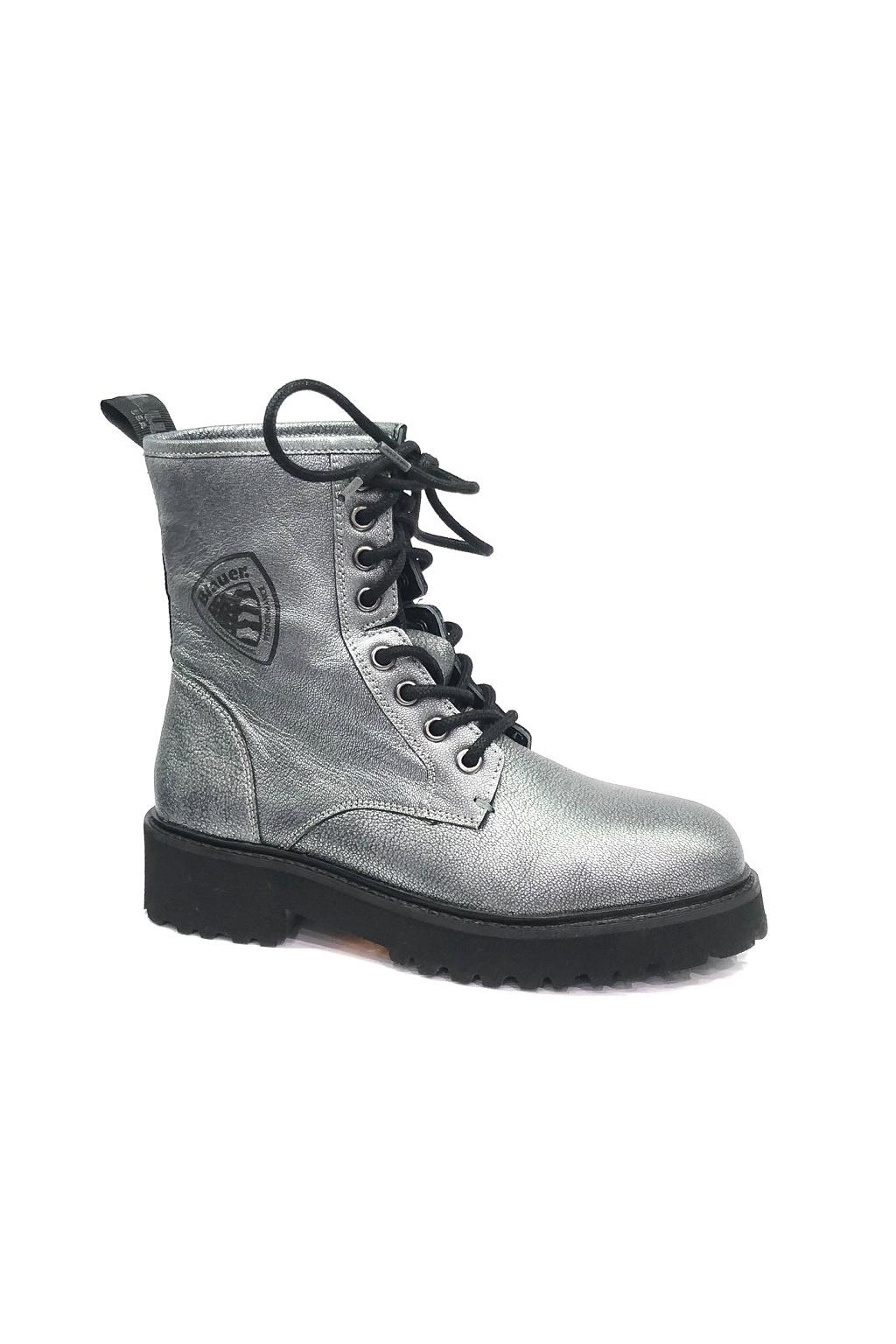 F0IRVINE01/LAM Gun Metal Dámská obuv Blauer Irvine stříbrná