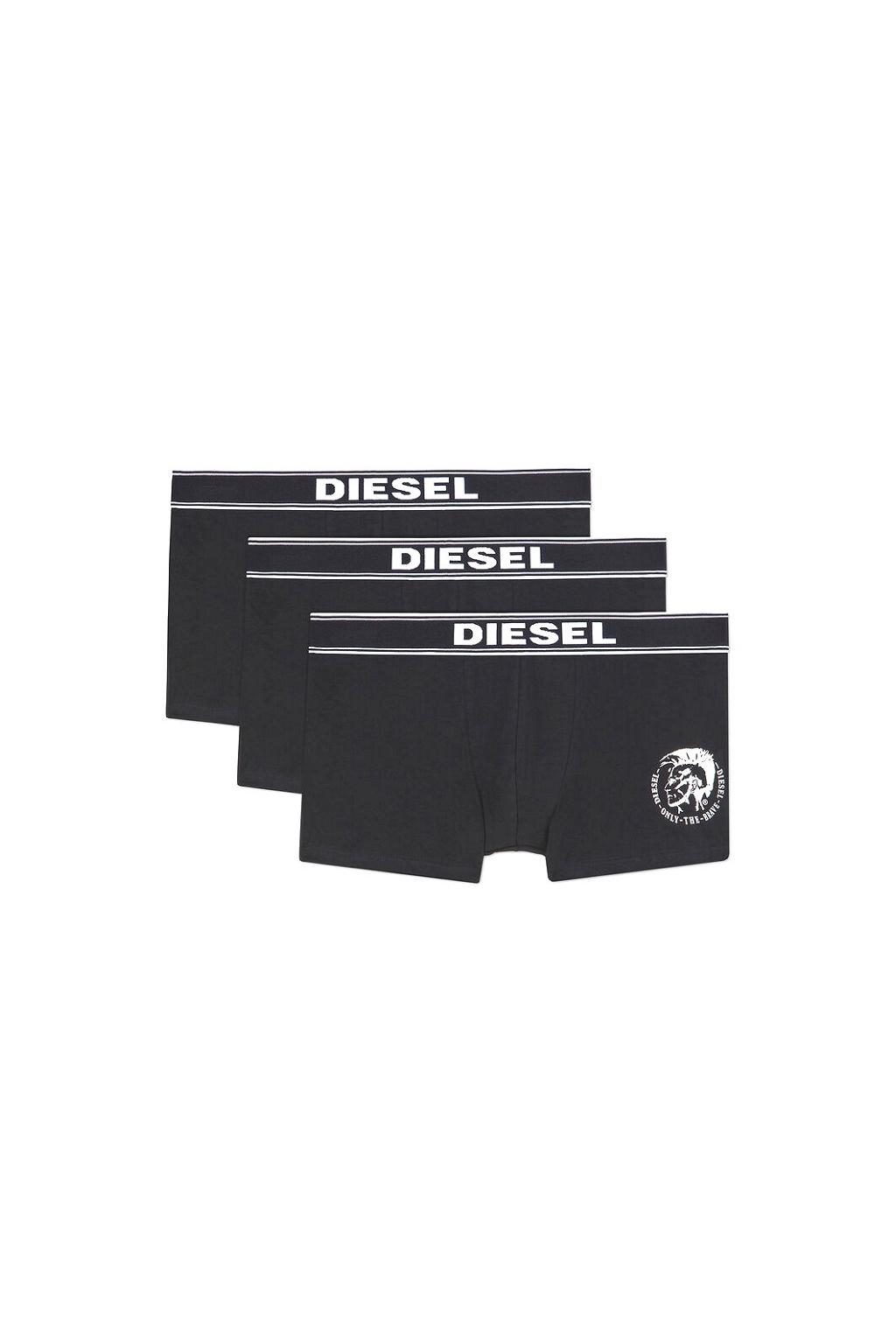 00SAB 0TANL 01 Diesel boxerky Umbx Damienthreepack černé