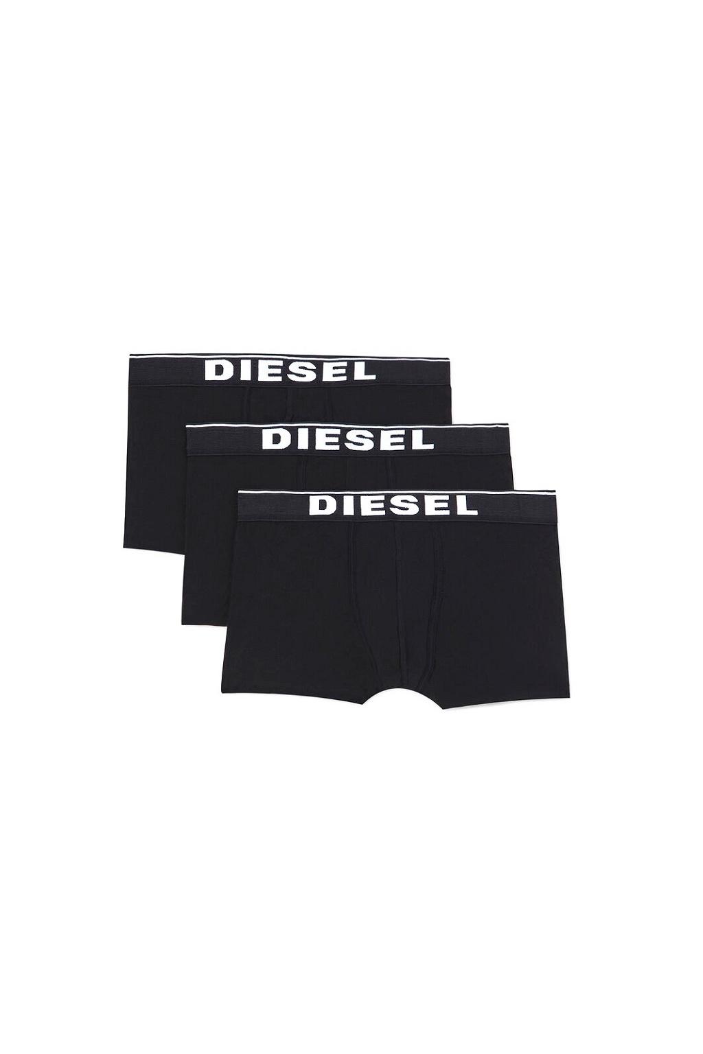 00ST3V 0JKKB E4101 Diesel boxerky Umbx Damienthreepack  černé