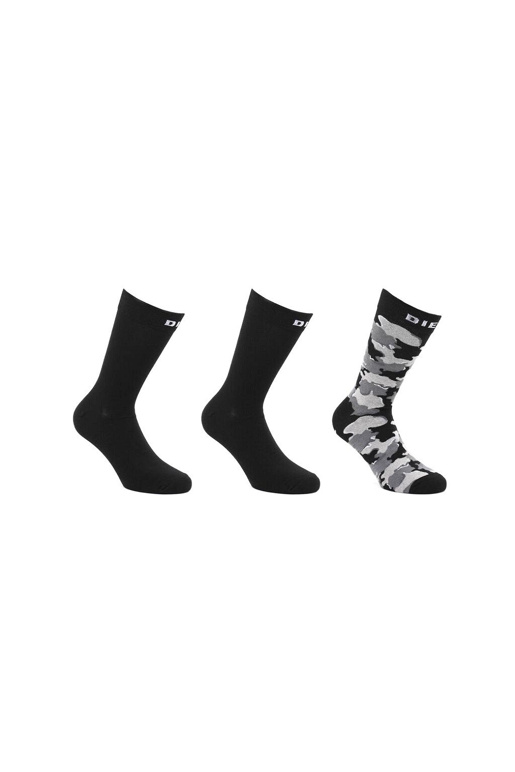 00SAYJ 0TAYO E3865 Pánské ponožky DieselSkm-Ray-Threepack