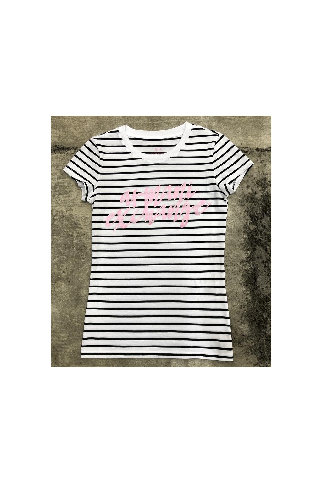 6HYTAL YJ73Z 8163 Dámské tričko Armani Exchange bílé