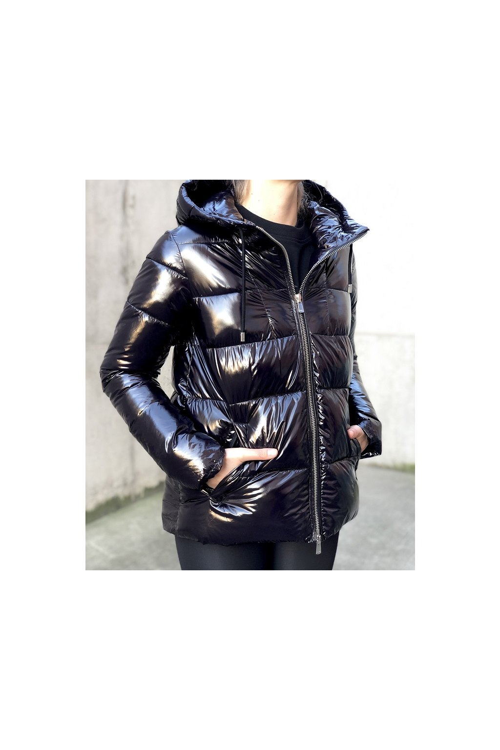1G15L0Y6BJ Z99 Dámská bunda Pinko Eleodoro černá