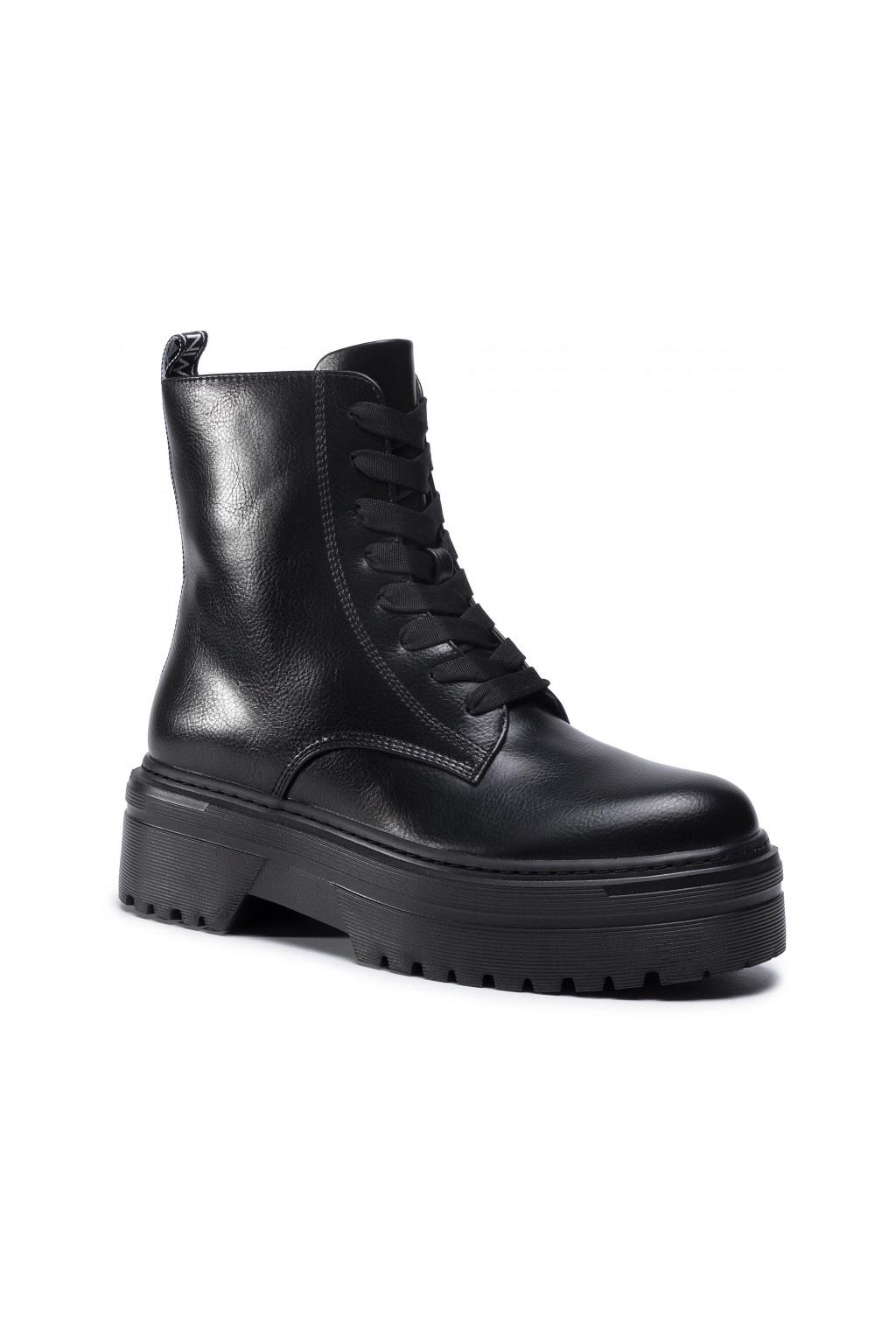 202MCP080 00006 Dámská obuv Twinset černá