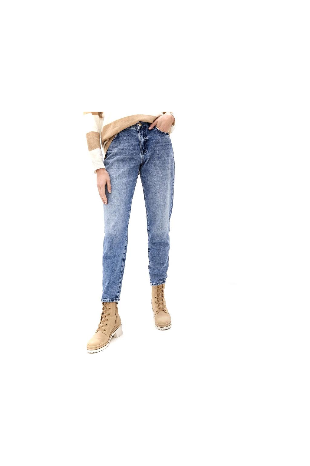 202MT2240 01611 Dámské džíny Twinset modré