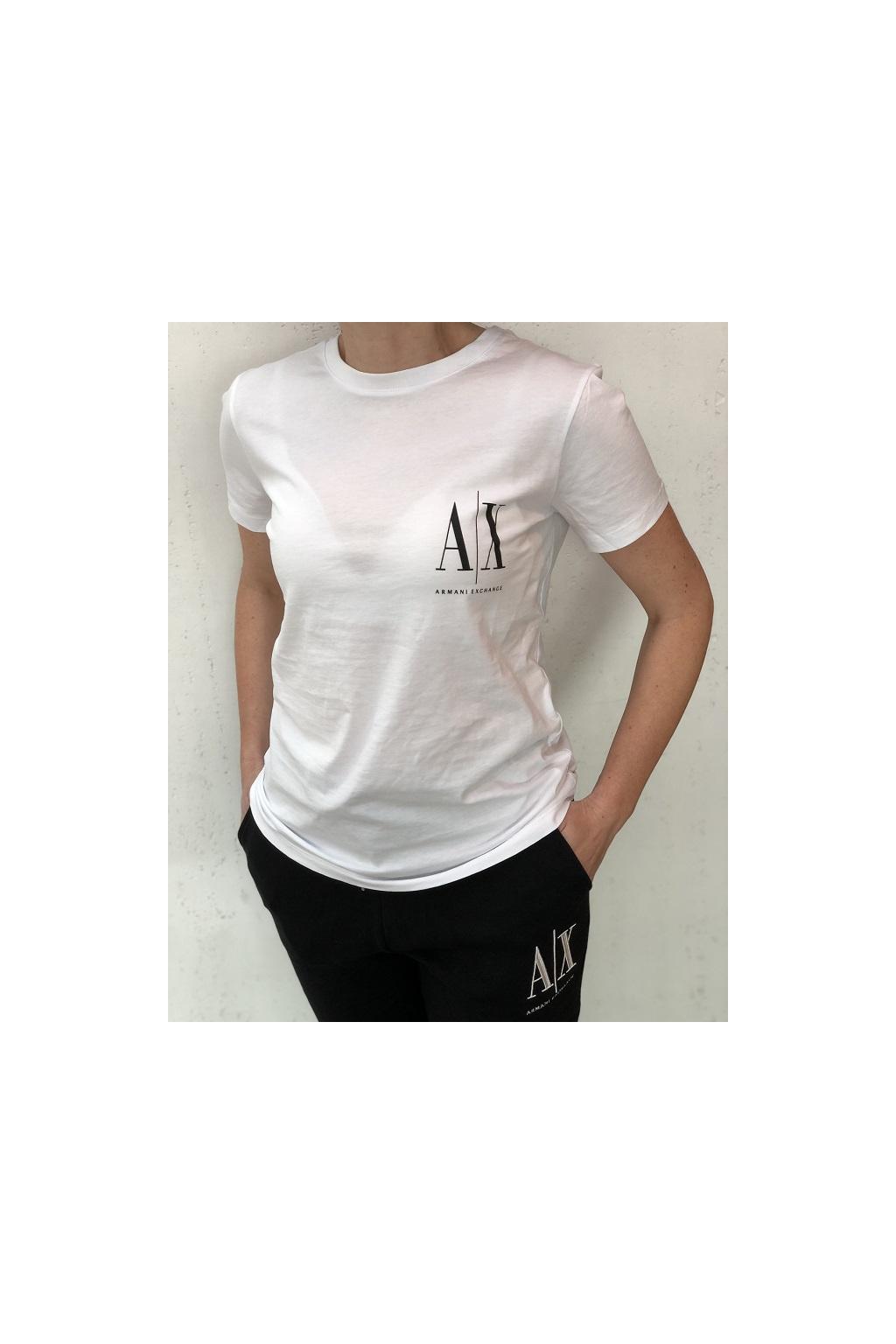 8NYTFX YJG3Z 5100 Dámské tričko Armani Exchange bílé