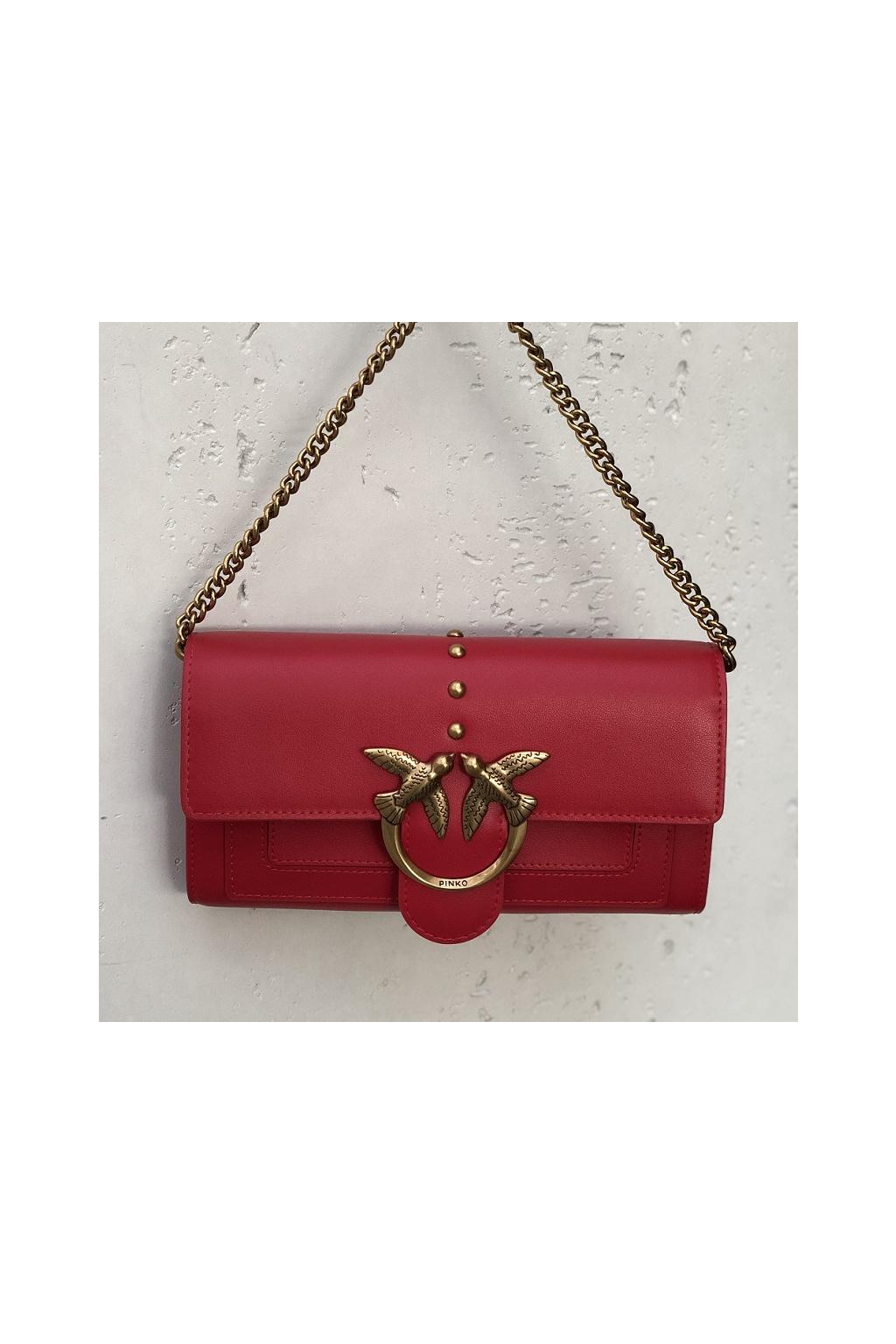 1P221Y Y6XT R43 Dámská peněženka Love Wallet Simlly 3 C červená