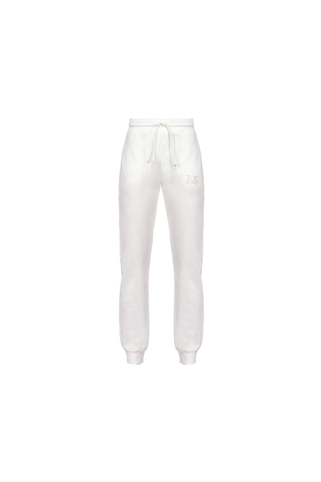 1G1638Y72Z Z13 Dámské kalhoty Pinko Carico bílé