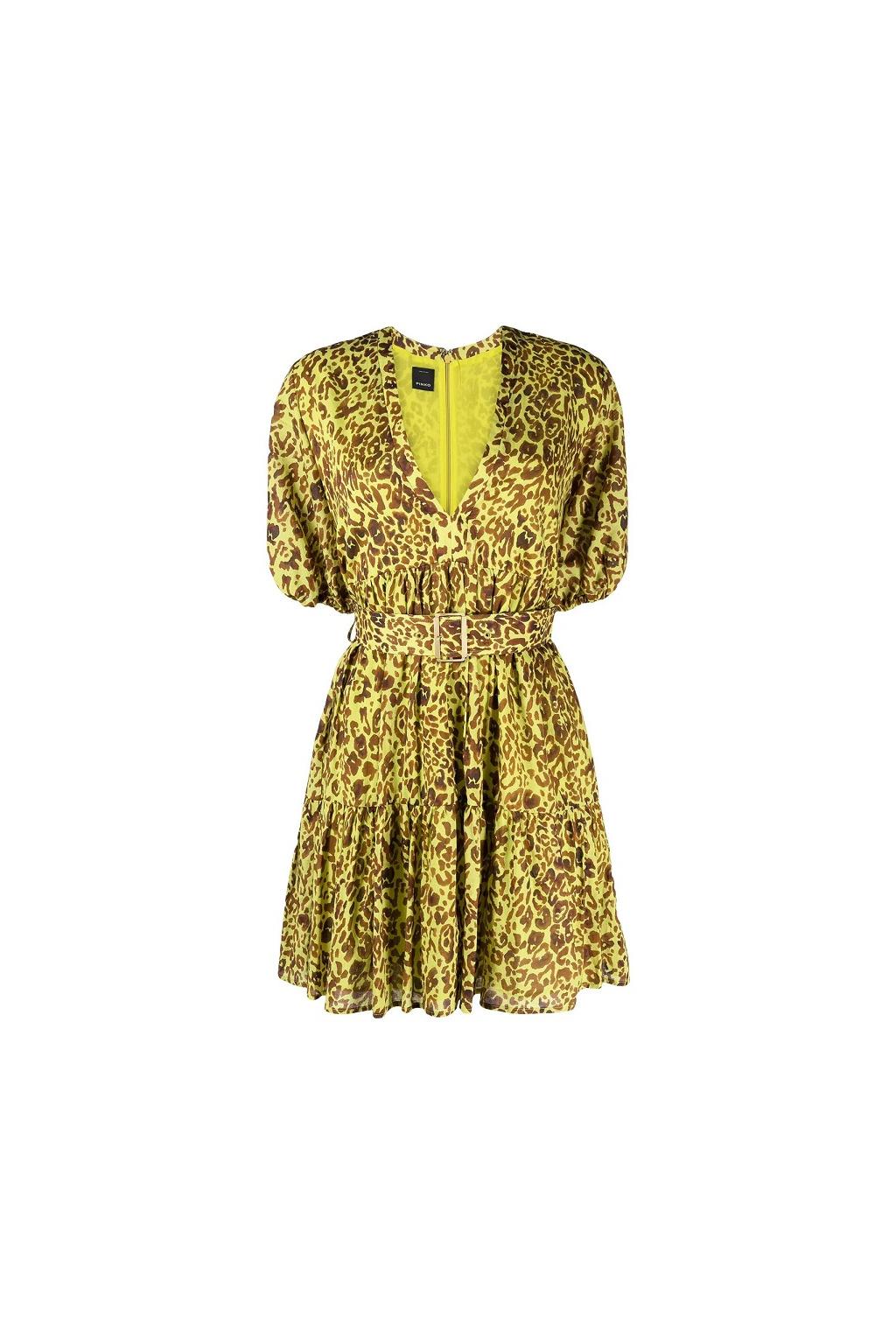 1G164F 8468 VAM Dámské šaty Pinko Nuvoloso barevné