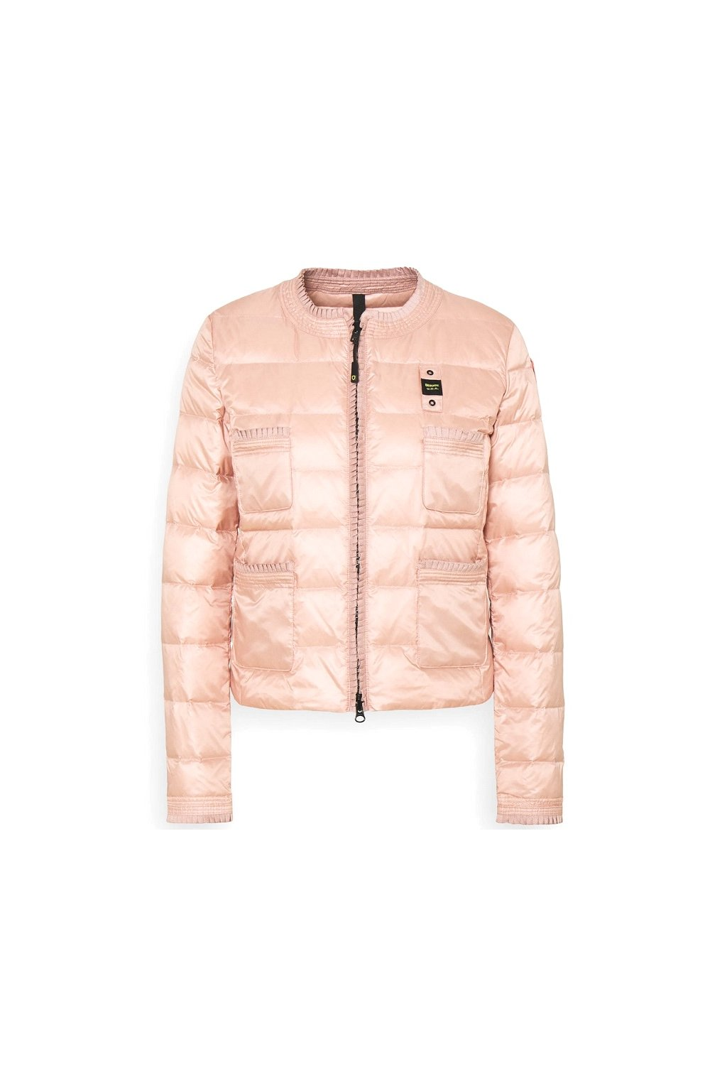 21SBLDC03024 537 Dámská péřová bunda Blauer světle růžová