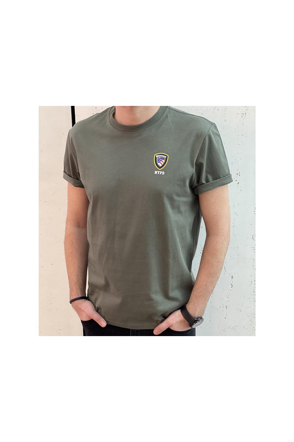 21SBLUH02130 702 Pánské tričko Blauer