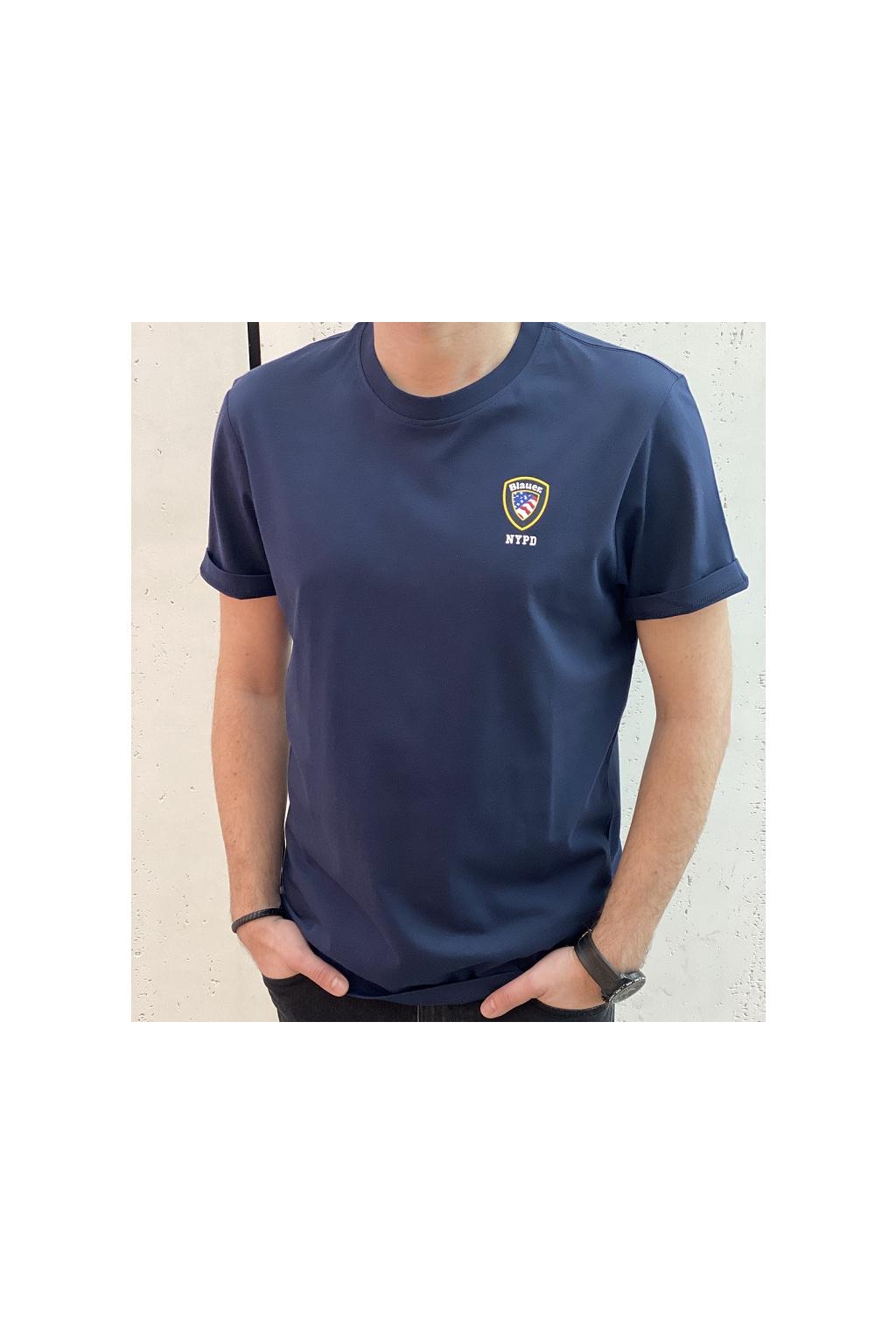 21SBLUH02130 802 Pánské tričko Blauer