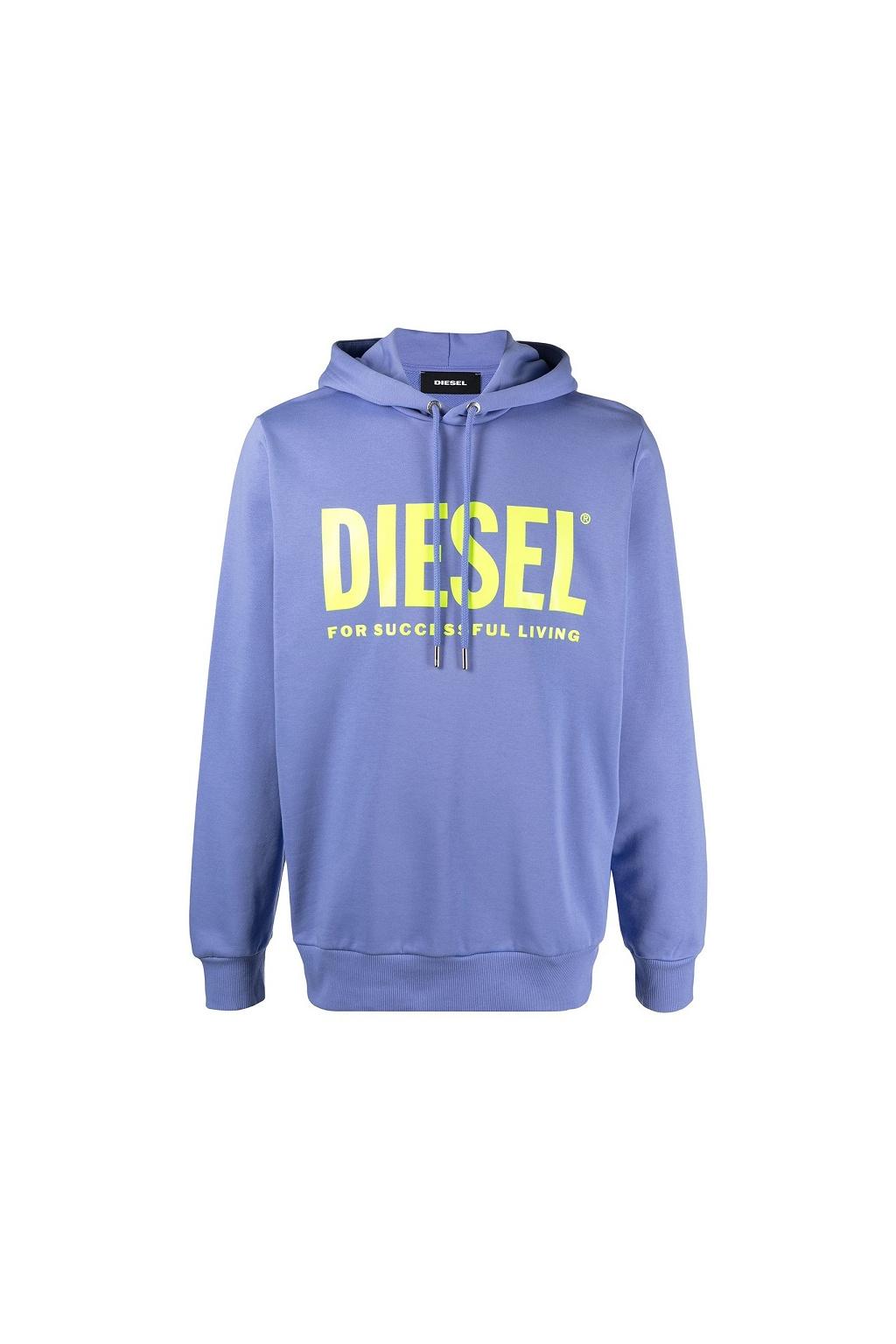00SAQJ 0BAWT64F Dámská mikina Diesel S Gir Hood Division Logo