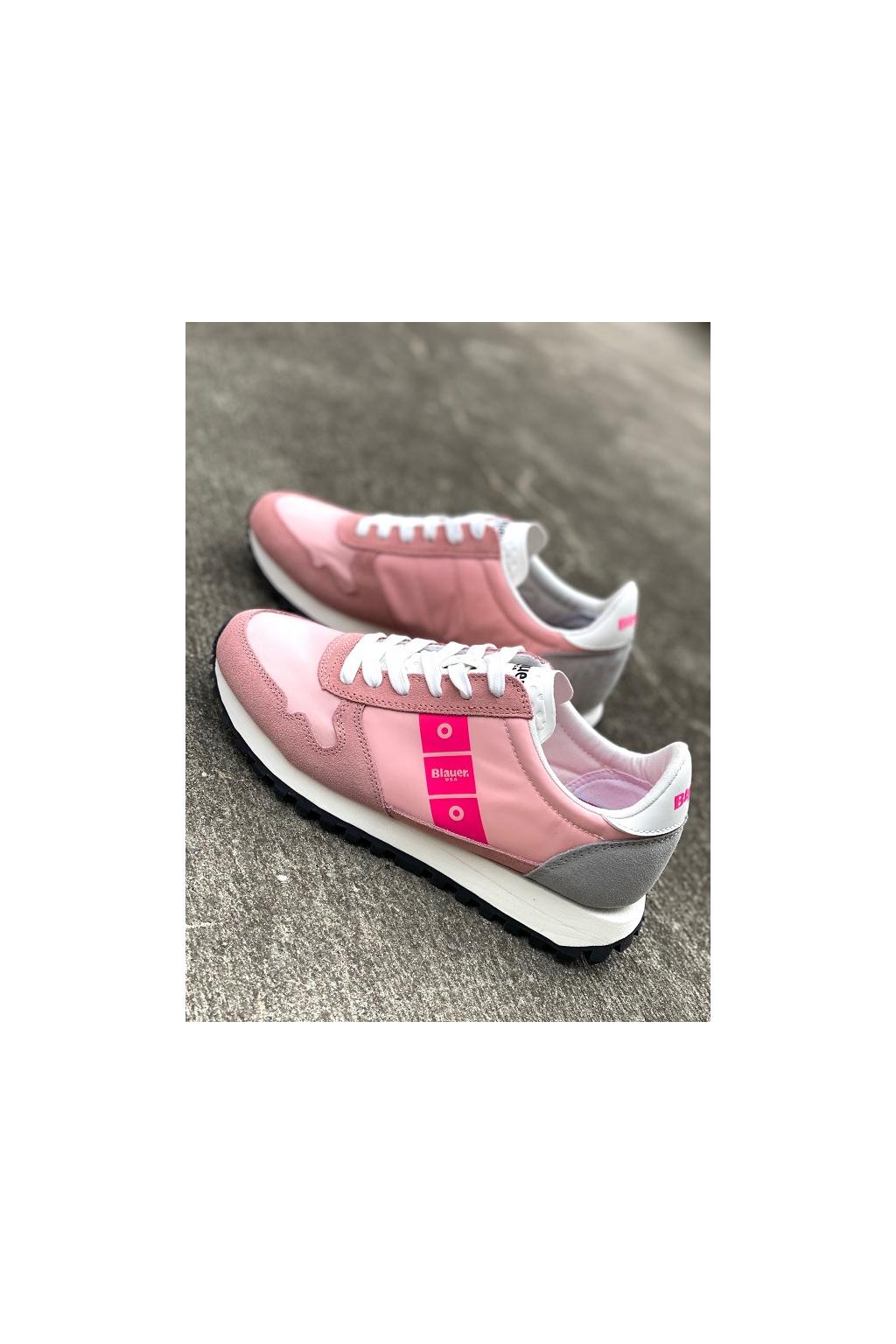 Dámské tenisky Blauer S1MERRILL01 růžové