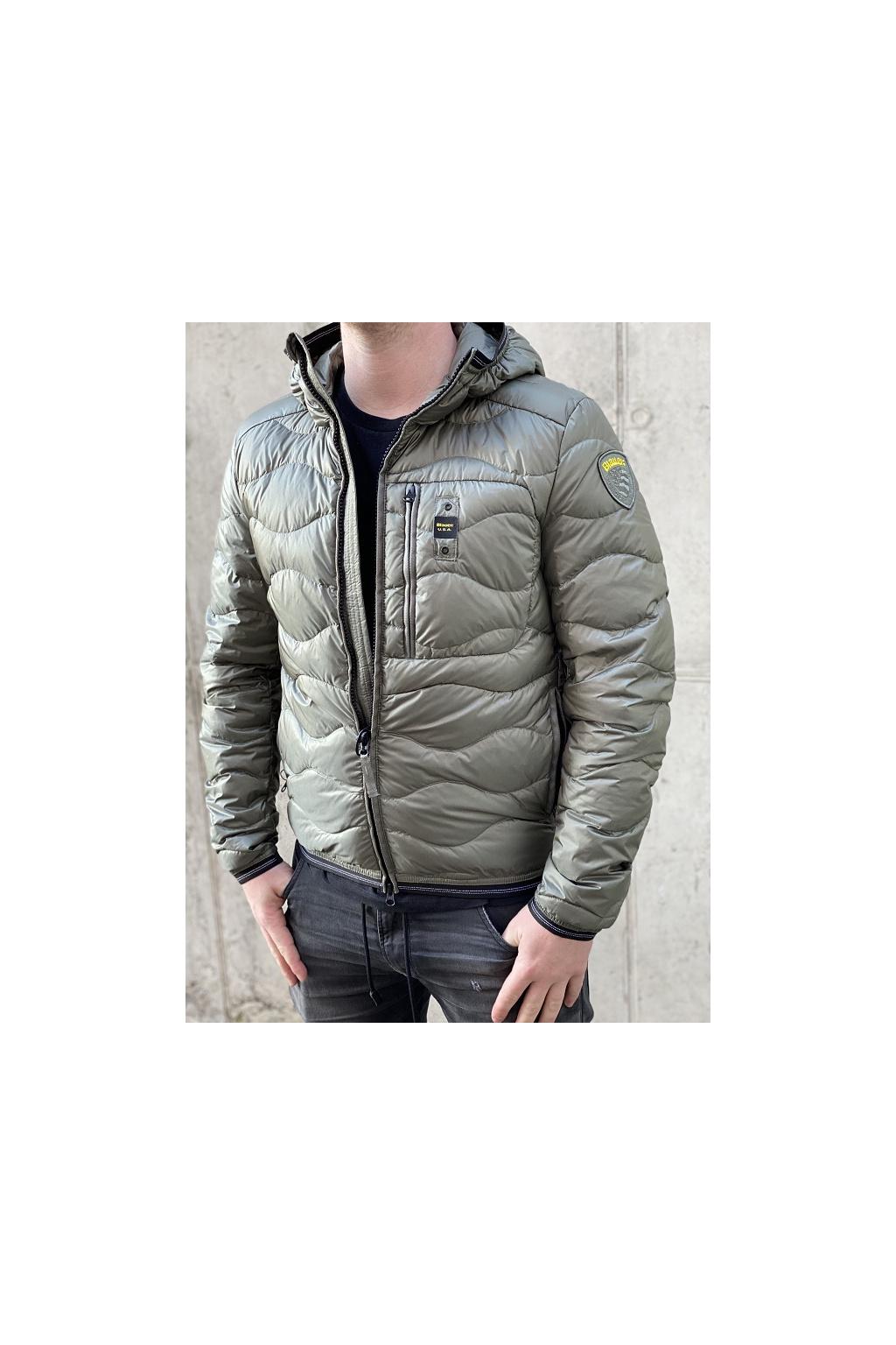 Pánská bunda Blauer 21SBLUC03029 zelená