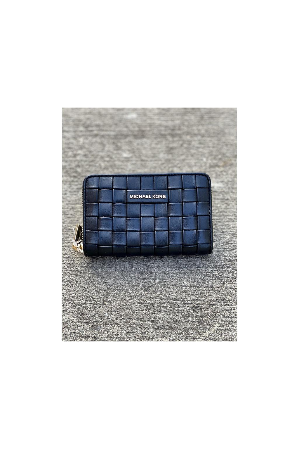 Dámská peněženka Michael Kors Jet Set Small Leather černá 1