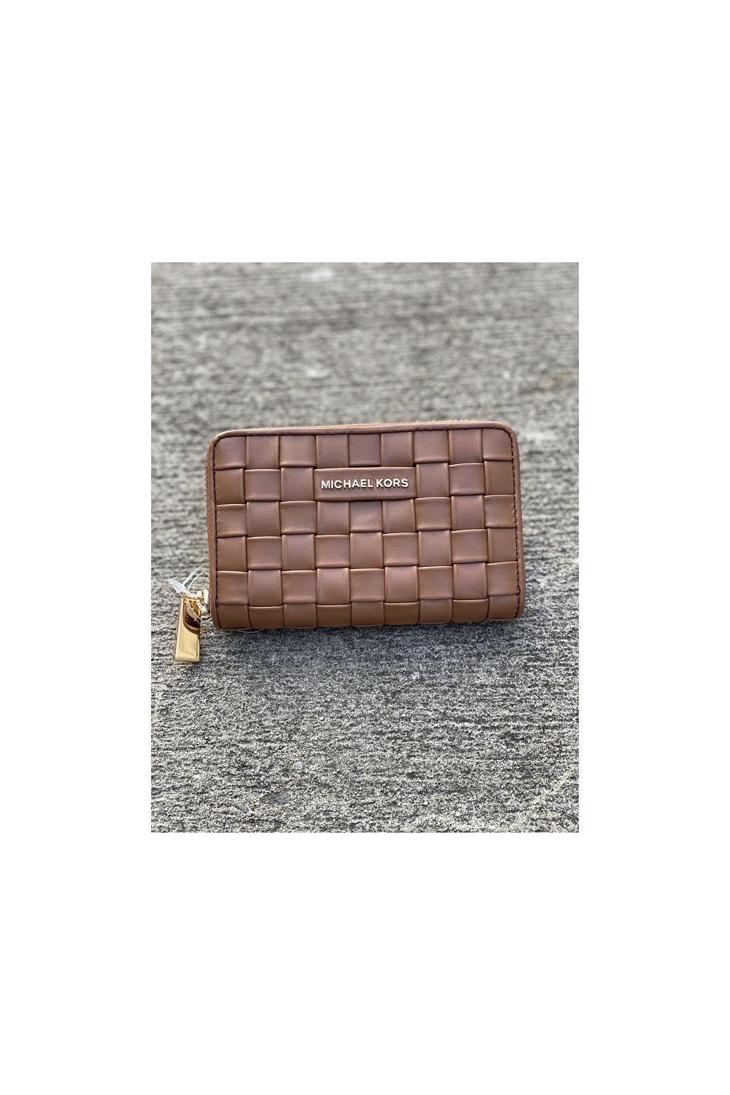 Dámská peněženka Michael Kors Jet Set Small Leather hnědá 1