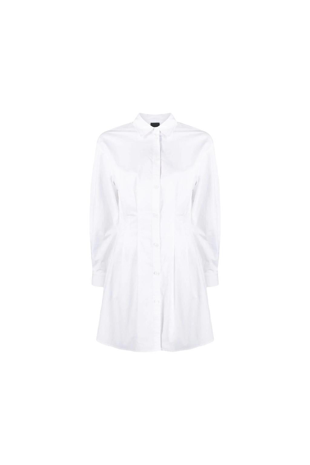 Dámské košilové šaty Pinko Fanatico bílé