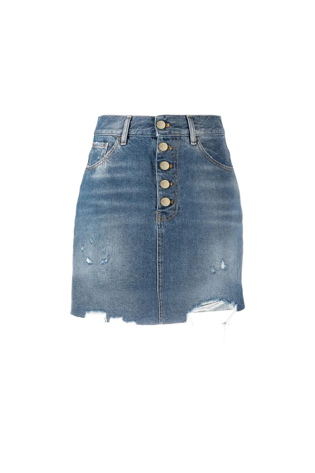 Dámská sukně Pinko Minimad PJ449 modrá