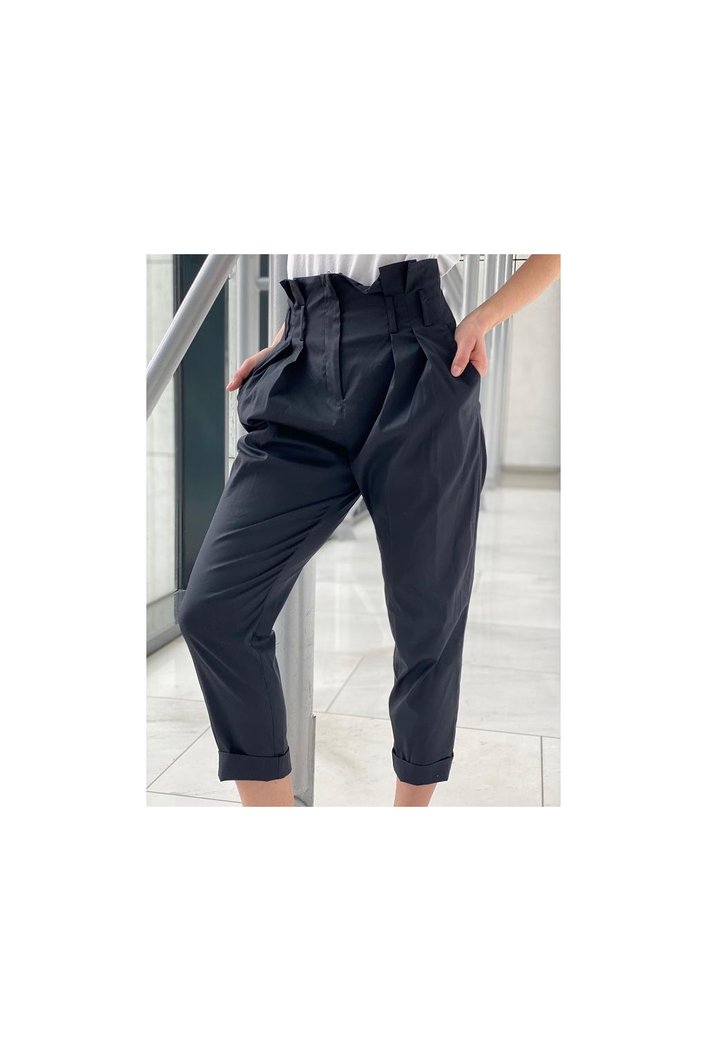 Dámské kalhoty Twinset 211MT2262 černé 0