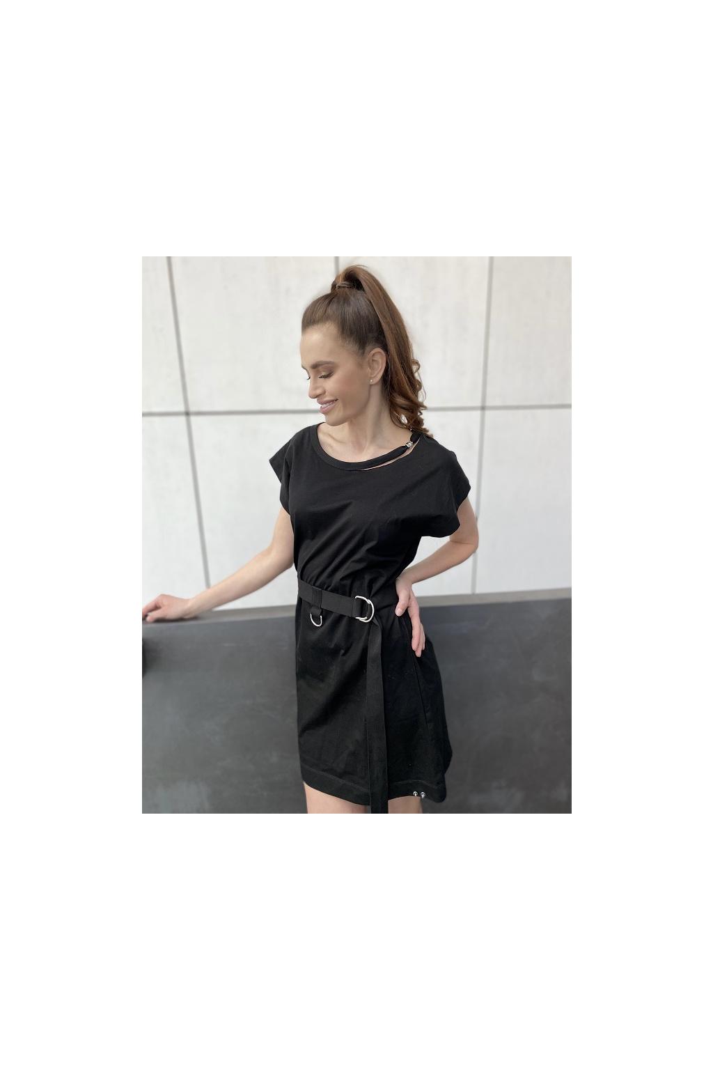 Dámské šaty Diesel D Easy černé