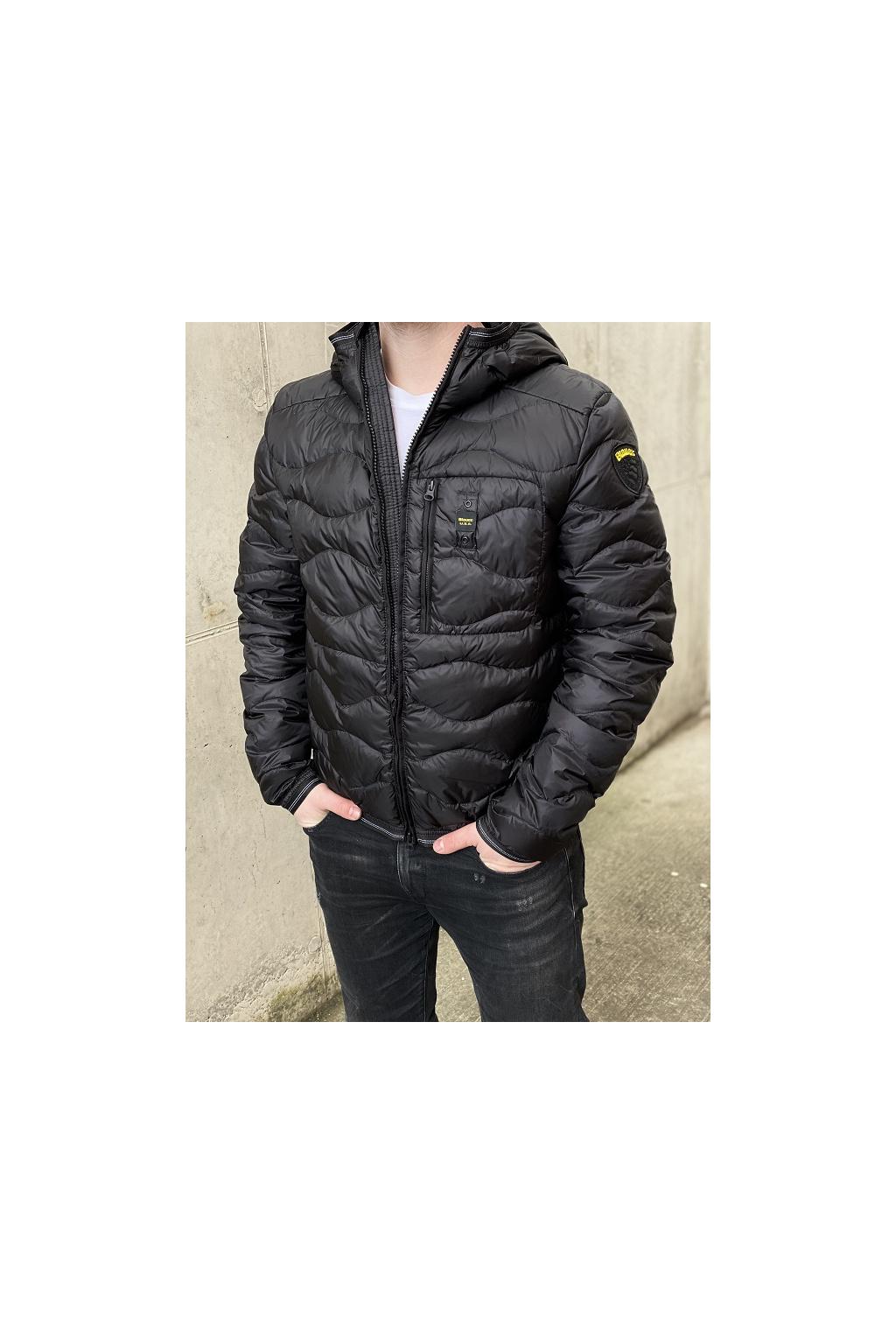 Pánská bunda Blauer 21SBLUC03029 černá