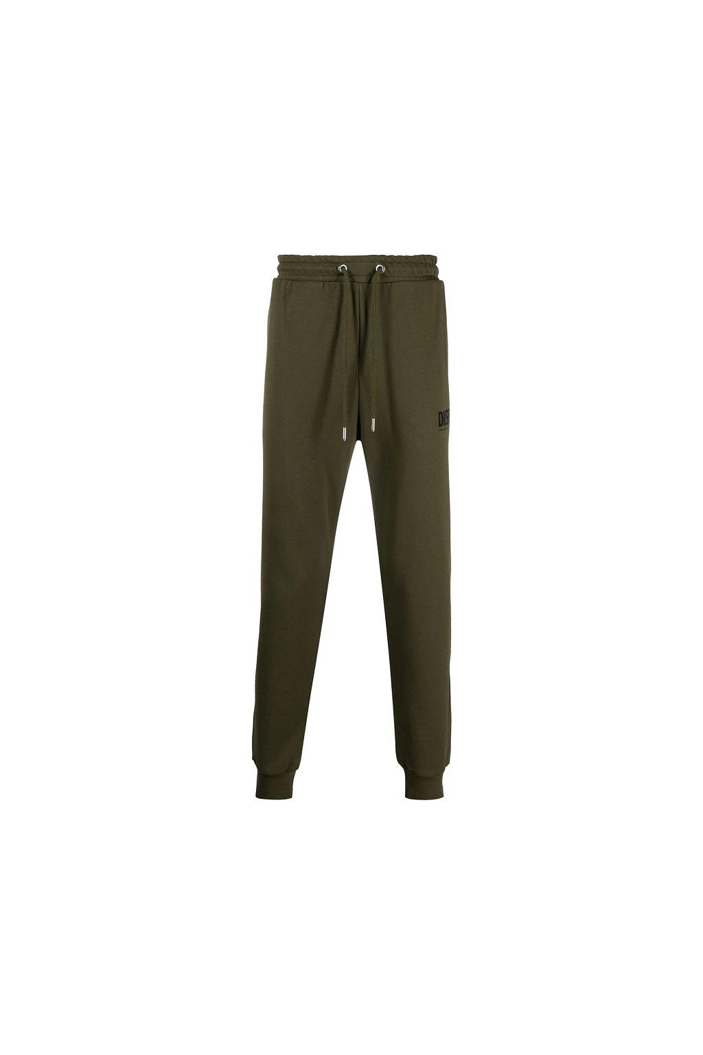 Pánské teplákové kalhoty Diesel P Tary Logo zelené
