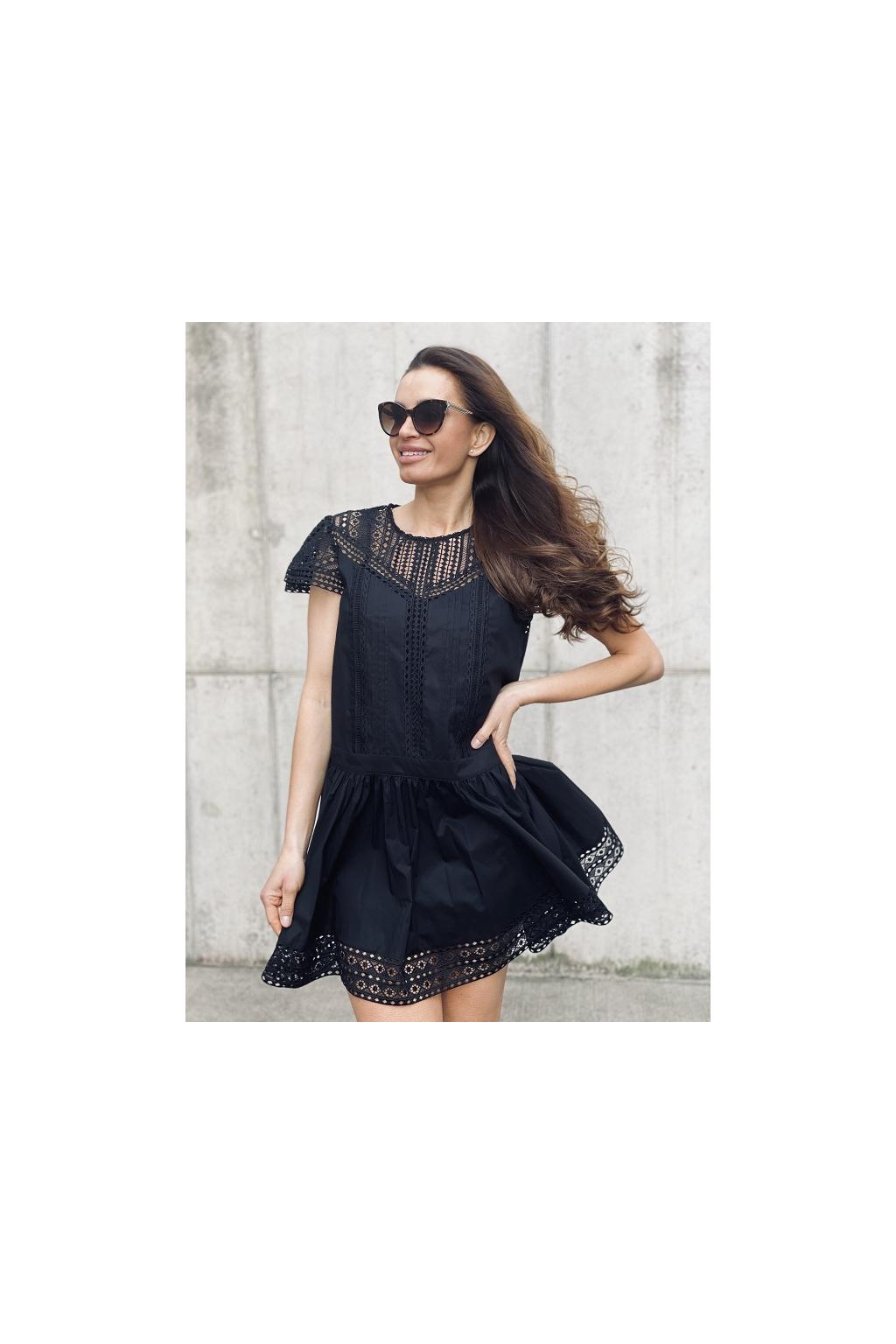 Dámské šaty Twinset 211TT2462 černé