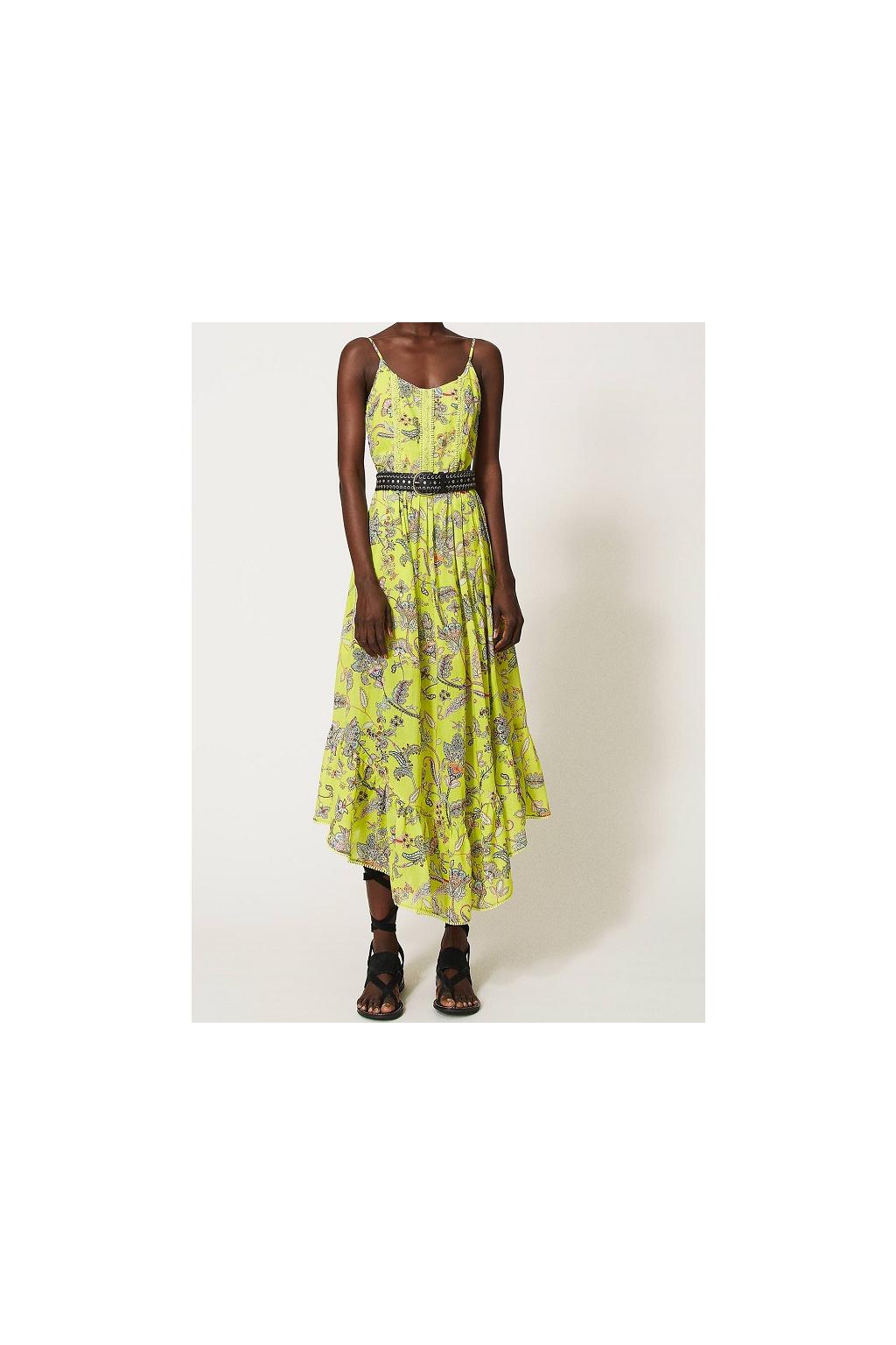 Dámské šaty Twinset 211TT2560 žluté