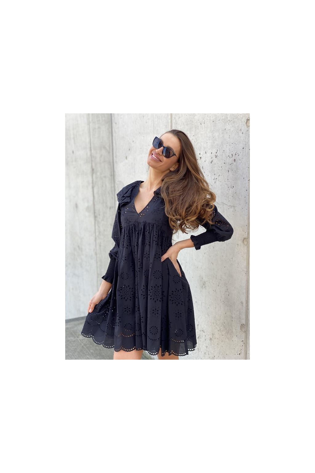 Dámské šaty Twinset 211TT2591 černé