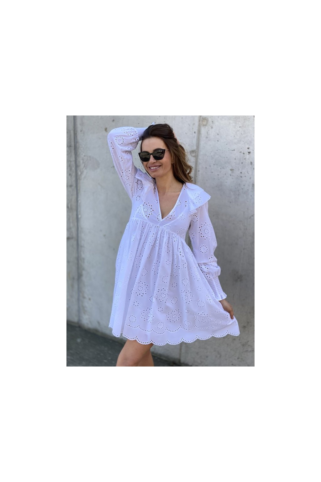 Dámské šaty Twinset 211TT2591 bílé
