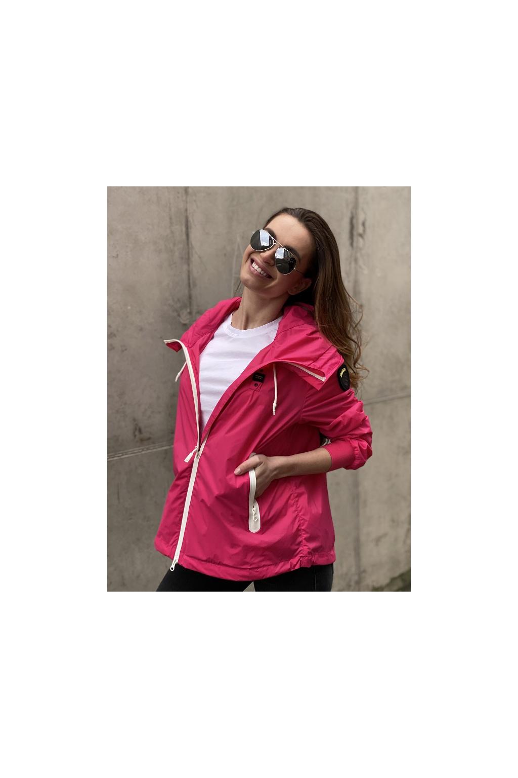 Dámská bunda Blauer 21SBLDC04160 růžová