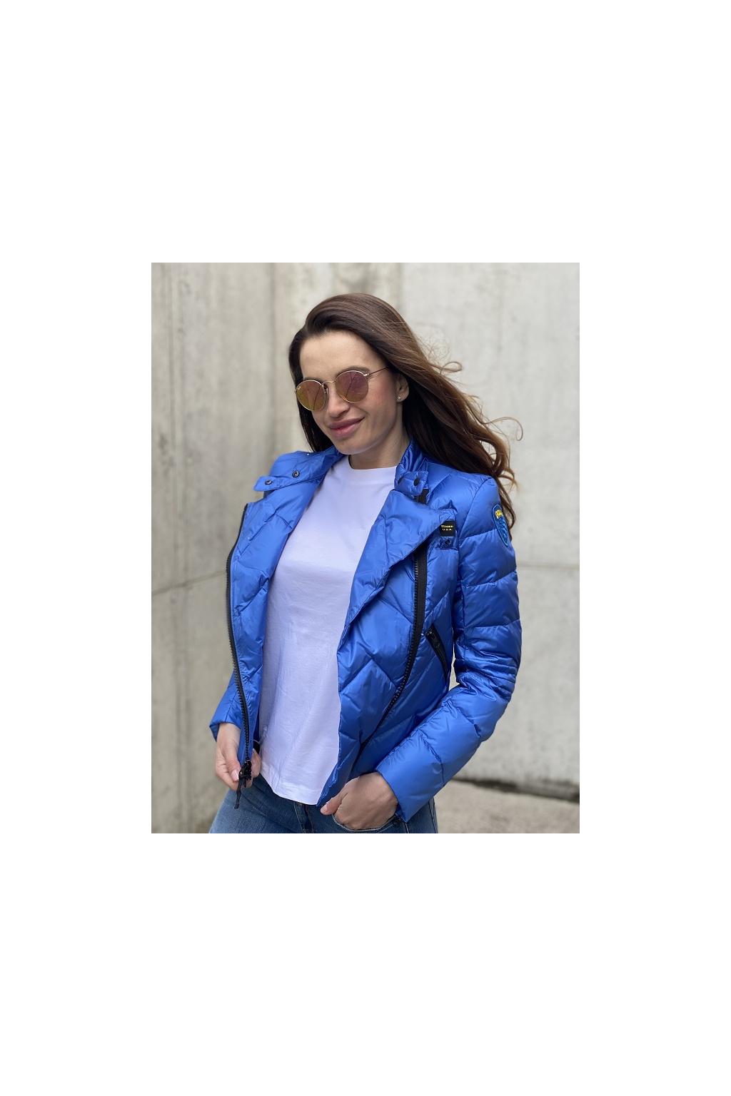 Dámská bunda Blauer 21SBLDC03109 modrá