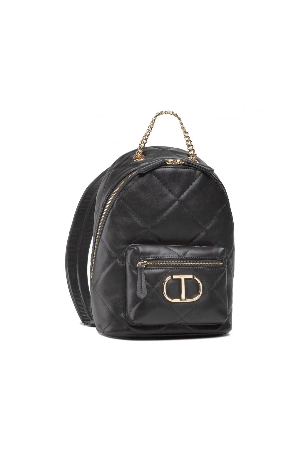 Dámský batoh Twinset Zaino 211TD8072 černý