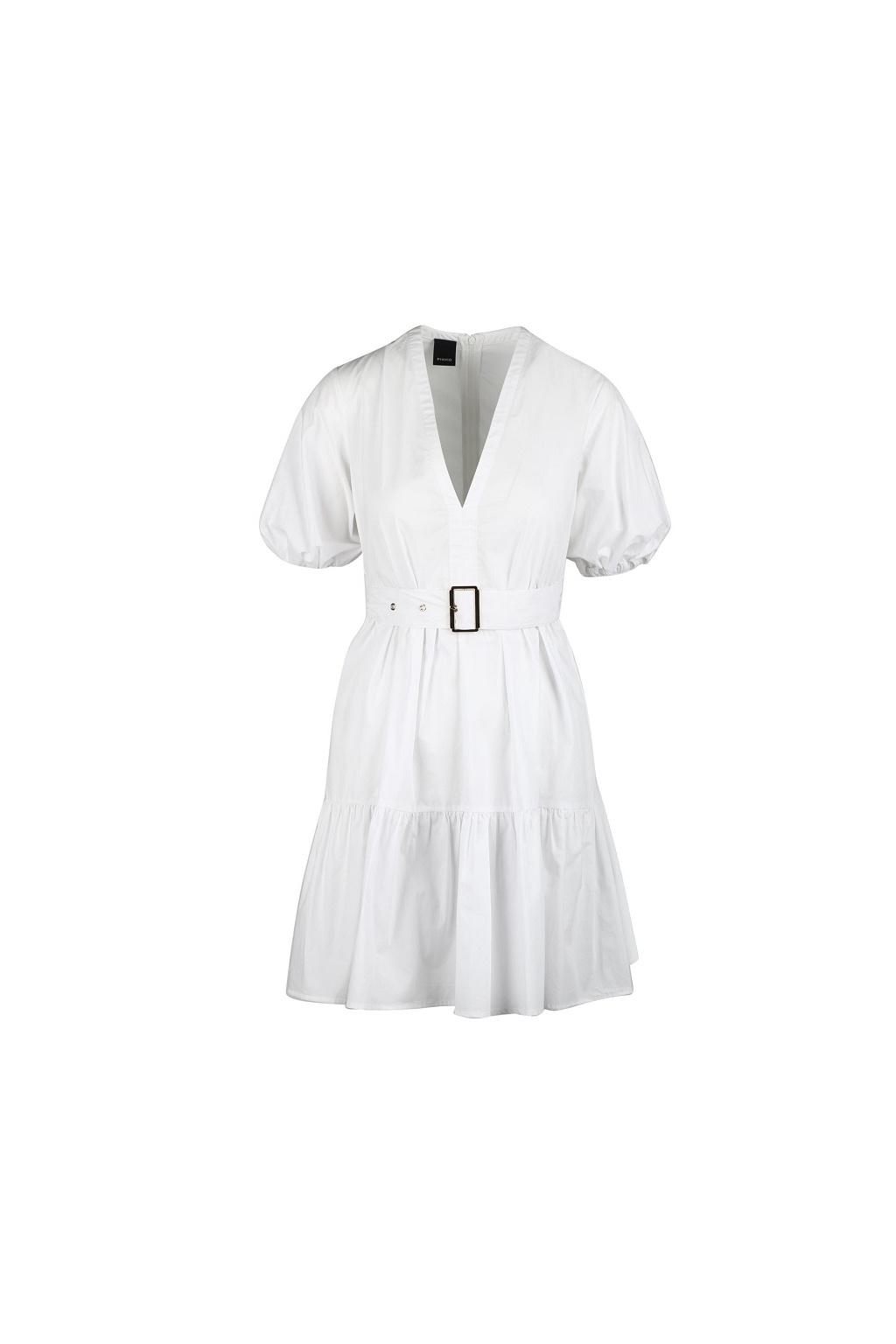 Dámské šaty Pinko Nuvoloso 1 bílé