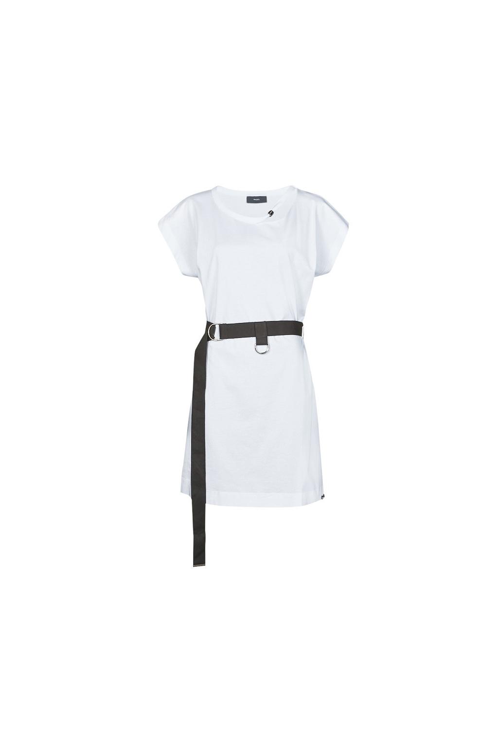 Dámské šaty Diesel D Easy bílé