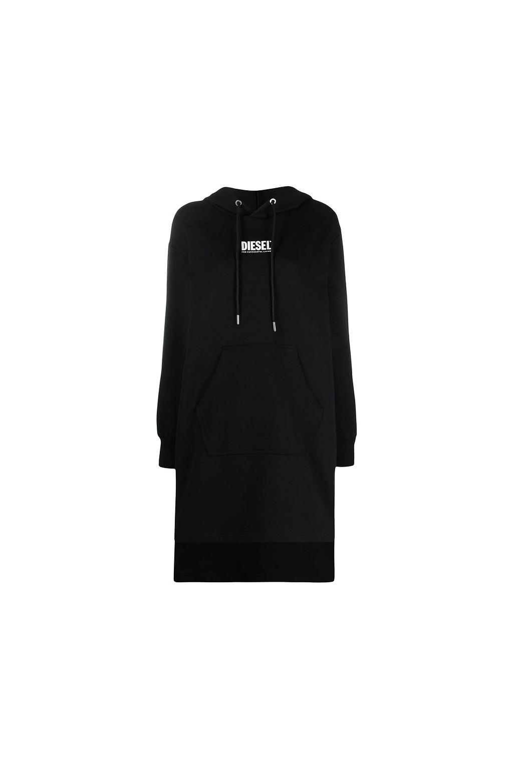 Dámské šaty Diesel D Ilse Smallogo černé