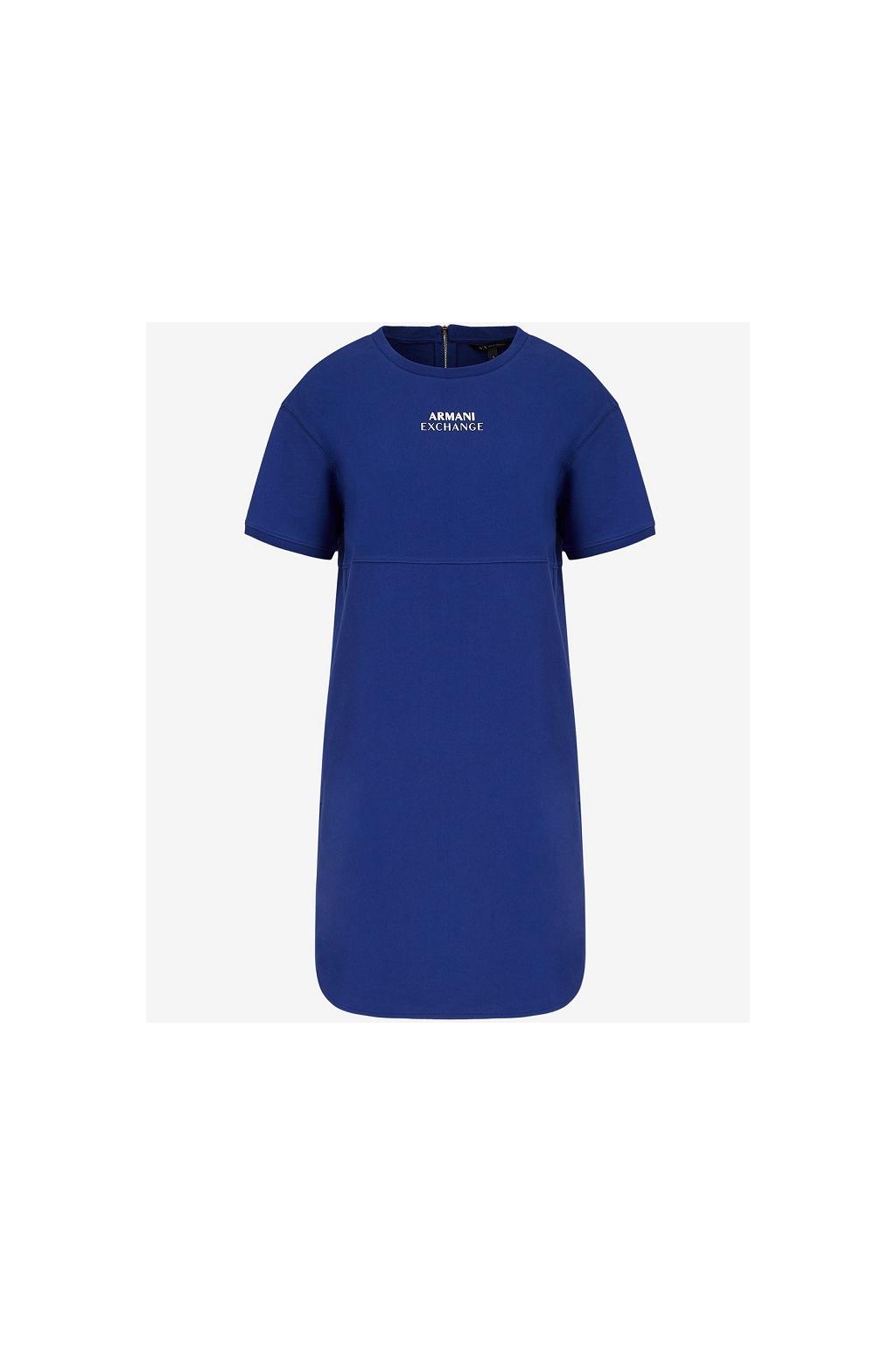 Dámské šaty Armani Exchange 3KYA79 YJ7EZ modré