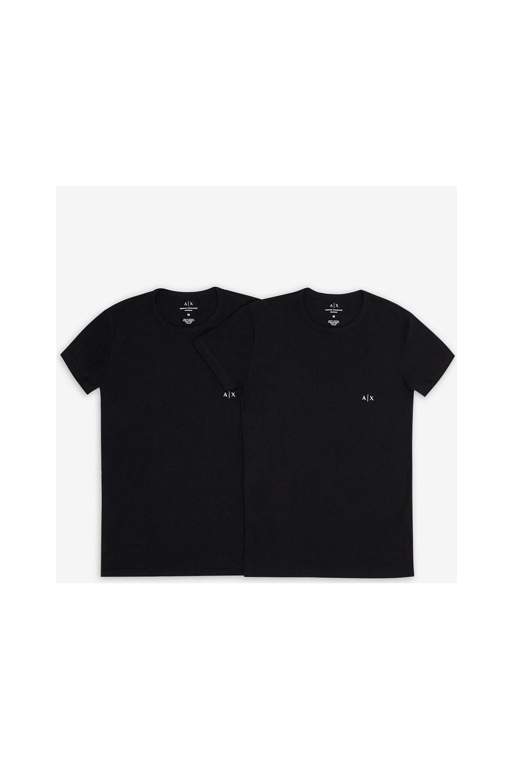 Pánské tričko Armani Exchange 956005 CC282 černé