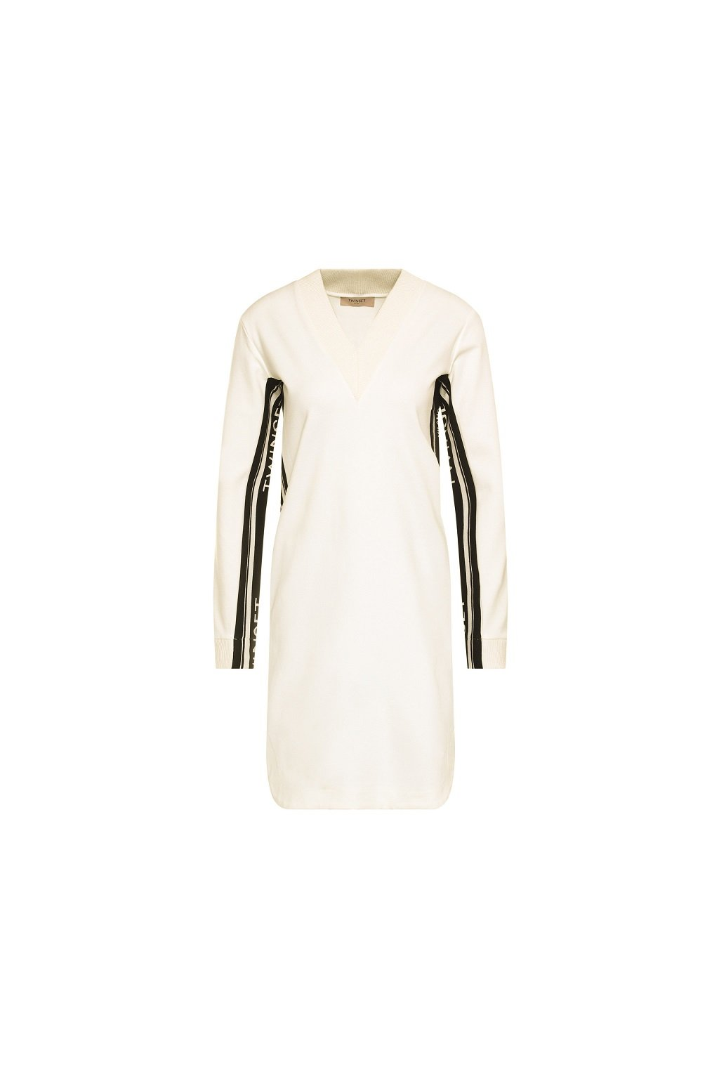 Dámské šaty Twinset logo 201TP2073 bílé