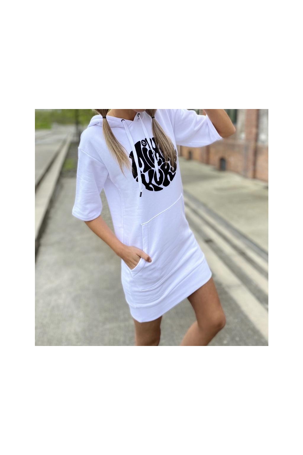 Dámské šaty Michael Kors MU180MP23G bílé