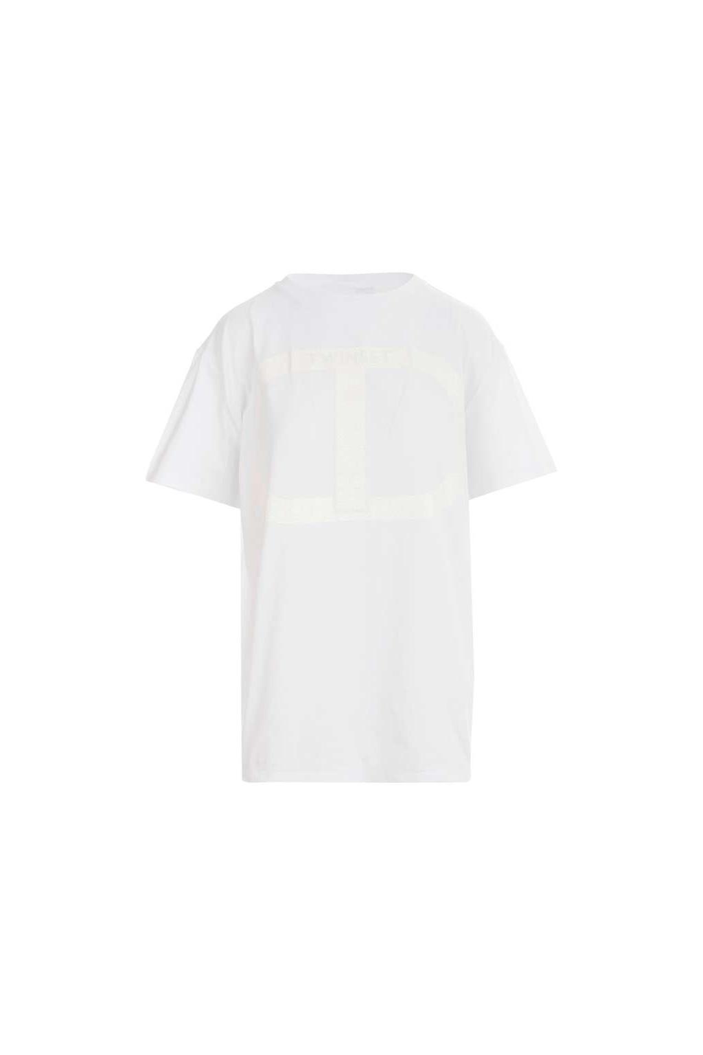 Dámské tričko Twinset 211TT2511 bílé