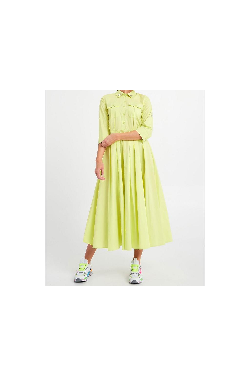 Dámské šaty Twinset 211MT2411 žluté