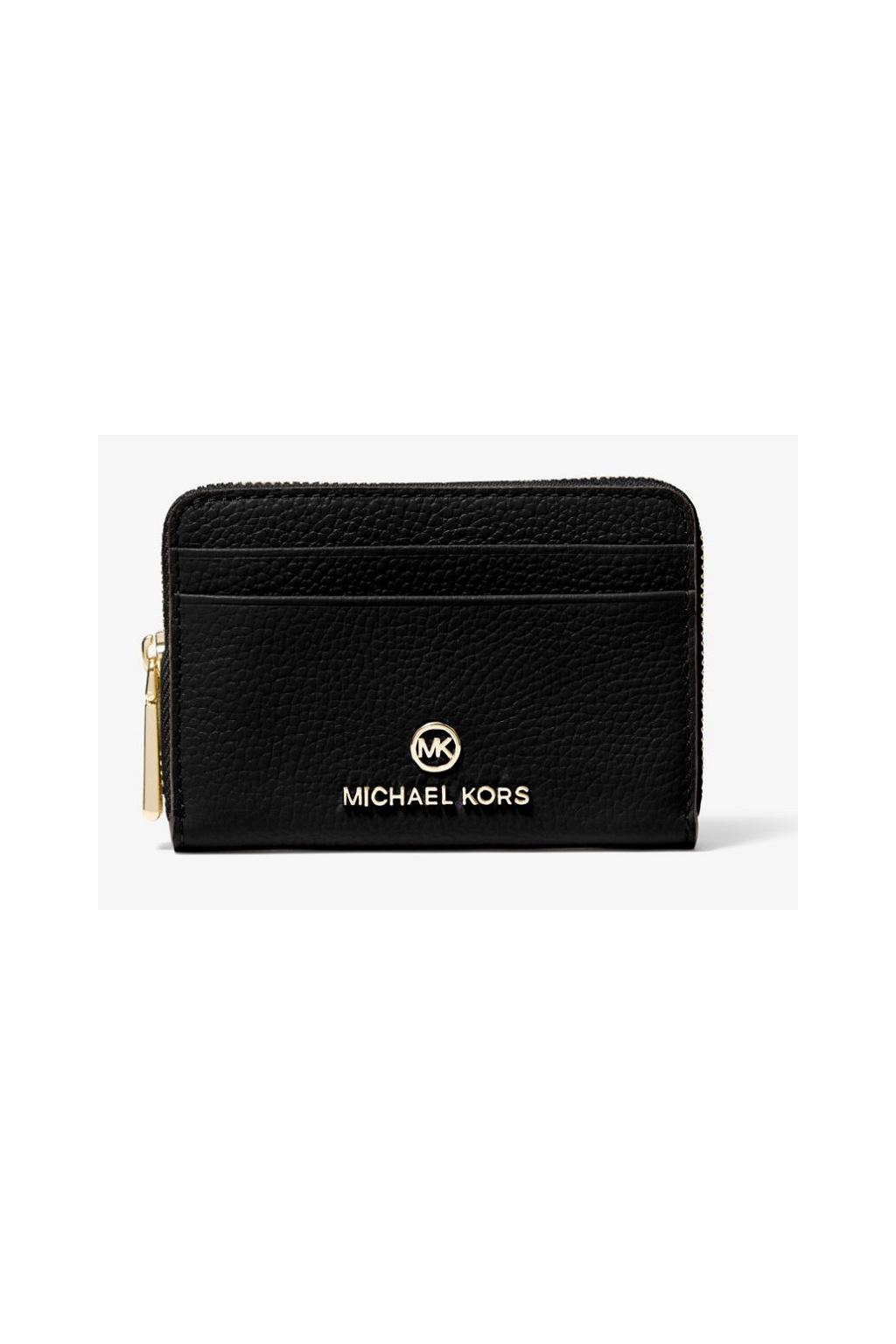 Dámská peněženka Michael Kors Jet Set 34S1GT9Z1L Small Leather černá