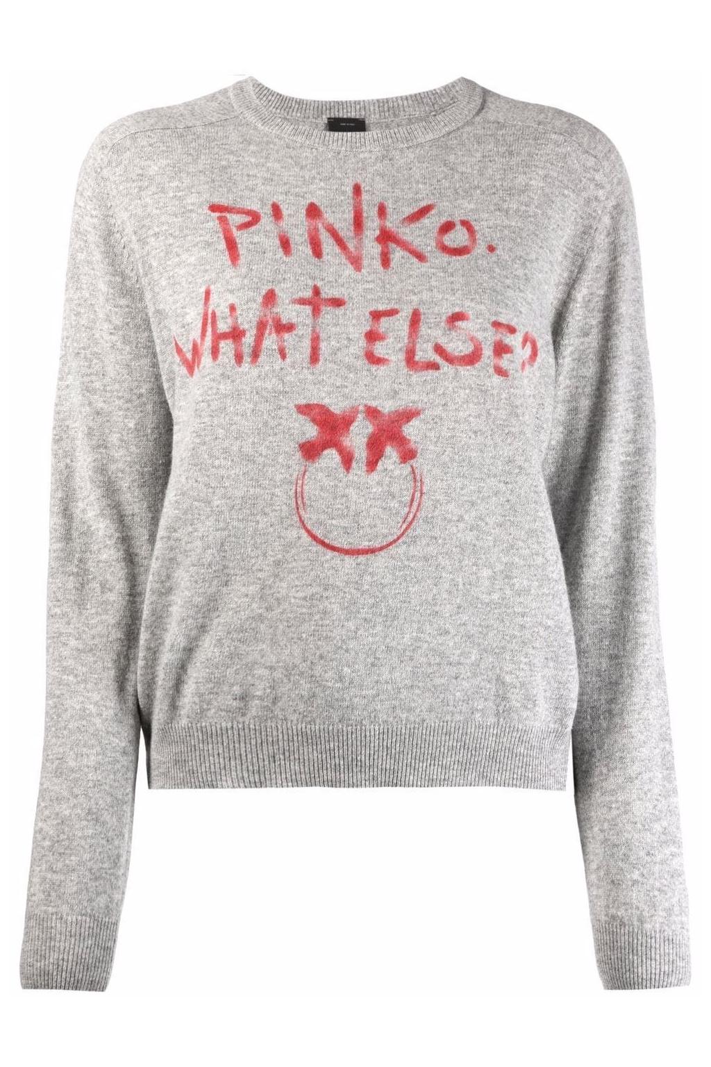Dámský svetr Pinko Scuderia 1 šedý